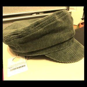 Wyeth Farrah corduroy cap
